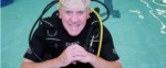 Scuba diving course passed by man aged 74
